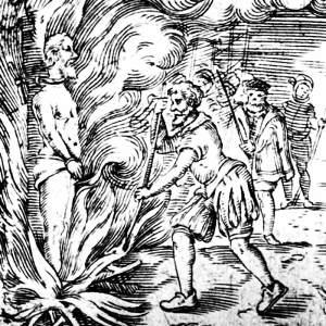 servetus-stake